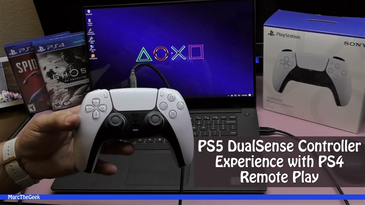Ps4 Remote With Ps5