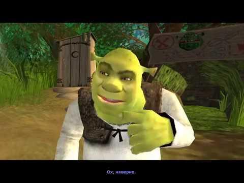 Полное прохождение игры Shrek 2 The Game