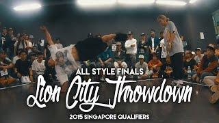 Gerald vs Rachel   All Style Finals   Lion City Throwdown 2015 Singapore Qualifier   RPProductions