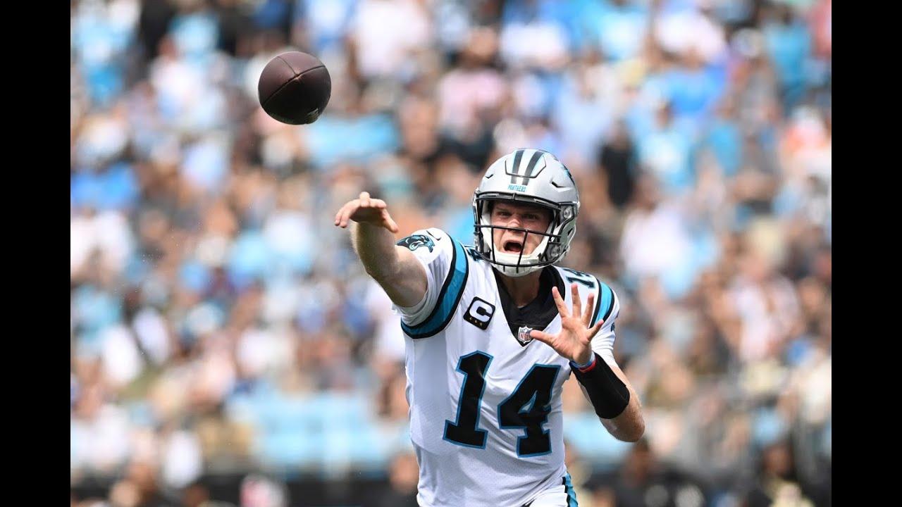 Carolina Panthers' Christian McCaffrey hurts hamstring; source says ...