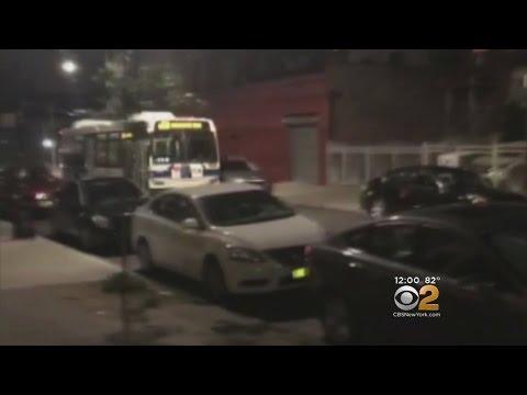 Runaway Bus Causes Damage In Brooklyn