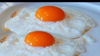 Как приготовить классическую яичницу глазунью без соплей