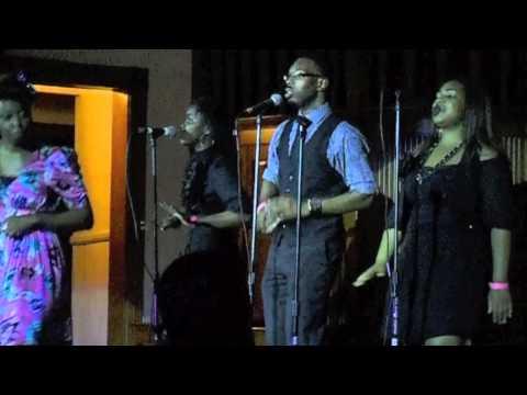 Marilyn Wright Sings Background For Erin Daneele