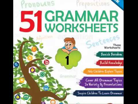 51 English Grammar Worksheets - Learn English Faster - YouTube