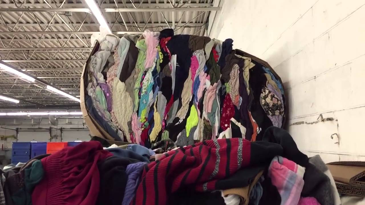 Behind the scenes look at the recycling program at Goodwill Industries of  the Pioneer Valley