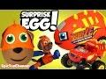 SURPRISE EGGS! Paw Patrol VS Blaze & The Monster Machines Surprises with Disney Cars Toys Surprises