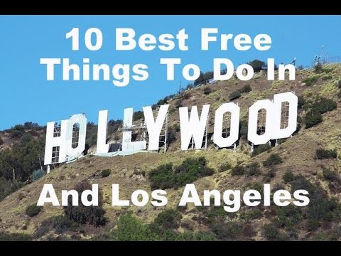 Free things to do in los angeles best place for for Things to do and see in los angeles