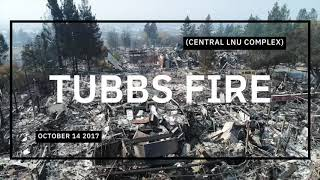 Tubbs Fire Coffey Park Fountain Grove. The week after....