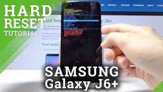 SAMSUNG Galaxy J6+ HARD RESET / BYPASS SCREEN LOCK