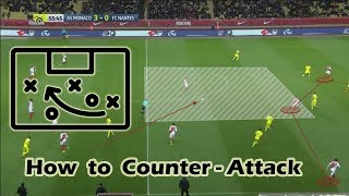 How to Counter Attack Effectively in Football? Football Tactical Tips