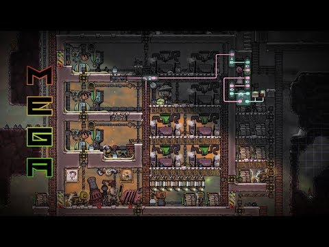 Polluted Water Power Plant! ONI Mega Base 18