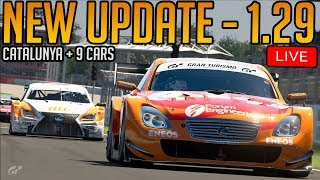 Gran Turismo Sport: New Update 1.29 (Circuit de Catalunya, 9 Cars, Penalty Changes)