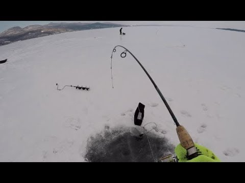 First Time Ice Fishing Lake Champlain