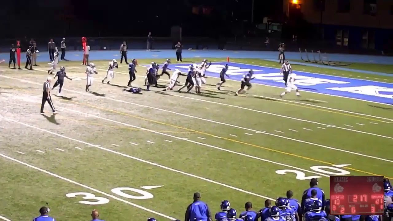 Union City vs. Irvington: Joel Jimenez's second TD run
