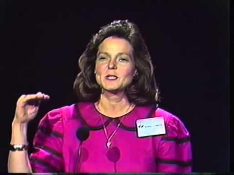 Valerie Elliot Shepard 1992 at a WIC Conference in Atlanta