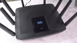 The Linksys EA9500 router is huge, really huge