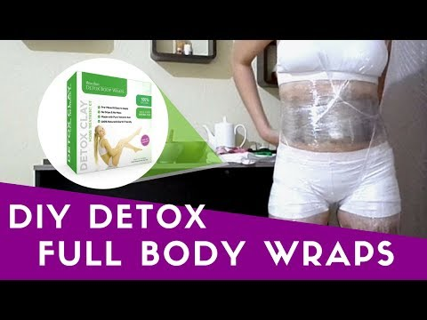 Step By Step Full Professional Detox Clay Body Wrap | Spa Treatment for Inch Loss
