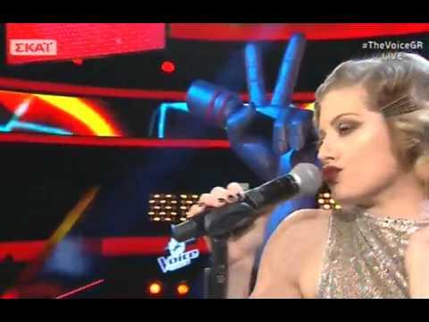 """Μυρτώ Ναούμ: """"Bad romance""""  2o    The Voice of Greece"""