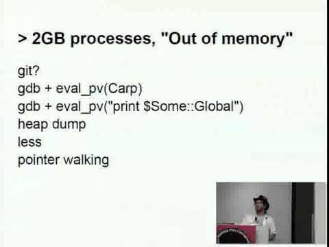Josh Jore   Practical Tools for Perl Emergencies