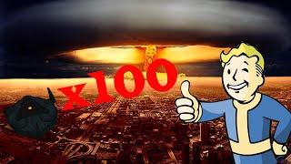 ЧТО БУДЕТ ЕСЛИ ВЗОРВАТЬ 100 ЯДЕРНЫХ МИН В Fallout 4