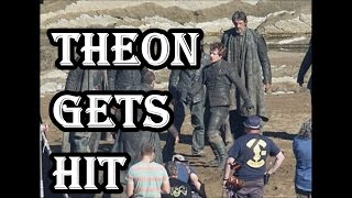 Game of thrones Season 7 SPOILERS -  Theon gets hit by the Ironmen