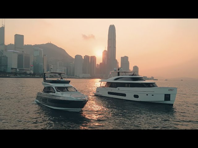 Azimut 53, Magellano 25M in HK