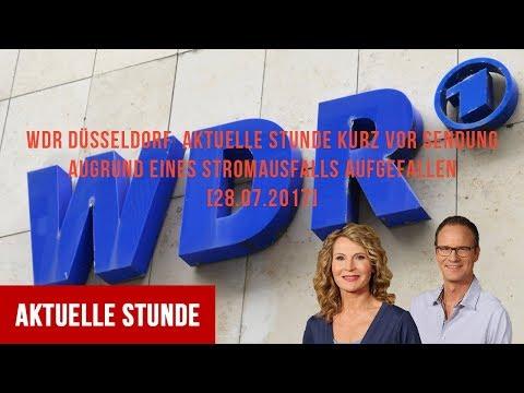 WDR Düsseldorf Aktuelle Stunde Stromausfall 28.07.2017