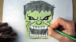 How to Draw Hulk (Ehedov Elnur)Marvel Comics Как нарисовать Халка(How to Draw Hulk (Ehedov Elnur)Как нарисовать Халка_Resm cekmek_ Como dibujar a Hulk_Wie zeichnet man Hulk_ハルクの描き方_如何繪製綠巨人 Music ..., 2016-04-01T11:27:09.000Z)