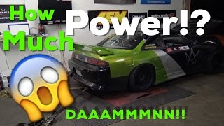 IT MADE HOW MUCH!?!? 2JZ 240sx on the Dyno!