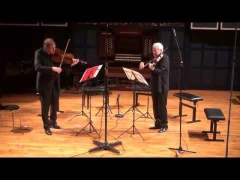 Frank Bridge: Lament For 2 Violas Michel Camille & Steven Dann