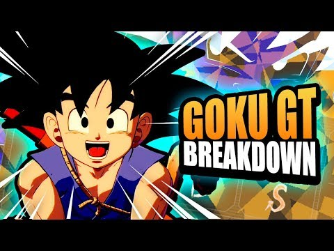 Goku GT Breakdown! Dragon Ball FighterZ Tips & Tricks