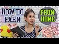 HOW TO EARN MONEY ONLINE | No Investment- Work From Home: 3 Ways! ft.Meesho| ThatQuirkyMiss