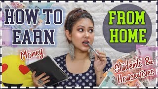 HOW TO EARN MONEY ONLINE | No Investment- Work From Home: 3 Ways! | ThatQuirkyMiss