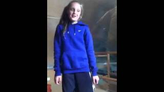I love you like a love song baby 10 year old singing
