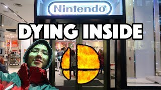 WAITING IN LINE FOR SMASH BROS ULTIMATE @ NINTENDO NY