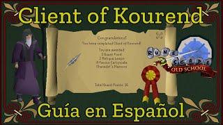 [OSRS] Client Of Kourend (Español)