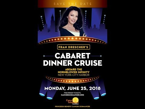 Fran Drescher's Cabaret Cruise June 25, 2018 in NYC