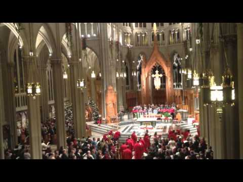 O Come All Ye Faithful - Christmas Eve Mass at Cathedral Basilica
