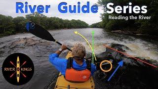 Kayak  nstruction   Reading the River