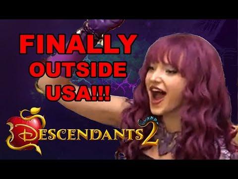 Disney Descendants 2 DVD Release Date in UK, Europe, Asia - Worldwide! Finally the movie is here!