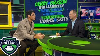 Tedy Bruschi's favorable and unfavorable matchups for Week 3 | The Fantasy Show | ESPN