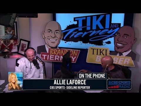 Allie LaForce with Tiki & Tierney