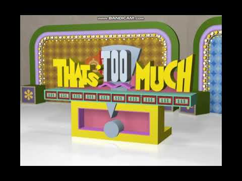 The awful Price Is Right DVD game 1 Player Mode