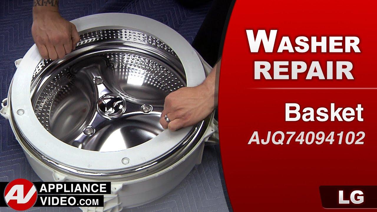 LG - Pedestal Washer – UE error code – Upper Hanger