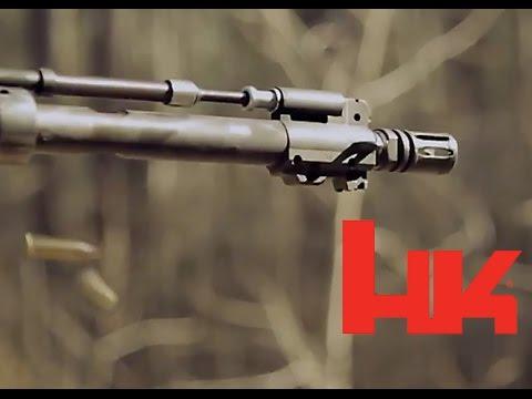 HK416 Sand Test/Gas Piston Breakdown