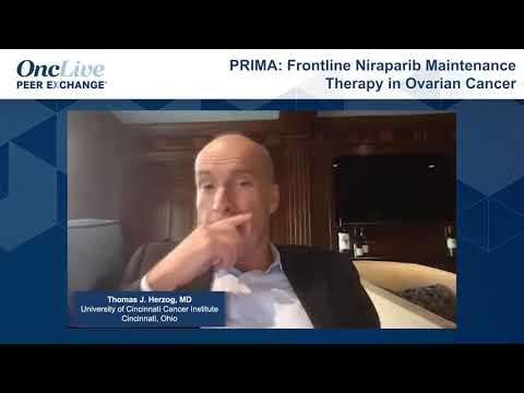Prima Frontline Niraparib Maintenance Therapy In Ovarian Cancer Youtube