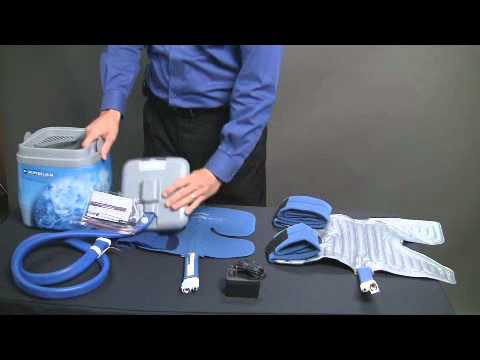 Breg polar care kodiak cold therapy unit mmar medical for Motorized cold therapy unit