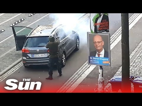 Shooter in Halle,