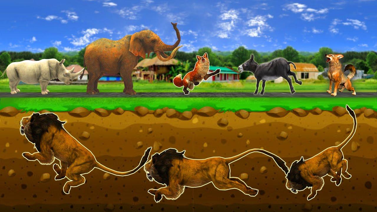 शातिर लोमड़ी - Vicious Fox Hindi Kahaniya - 3D Animated Panchatantra MoralStories