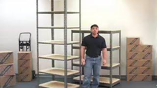 Boltless Shelving Storage Racks